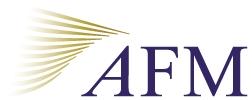 Bedrijfspresentatie Autoriteit Financiële Markten (AFM)